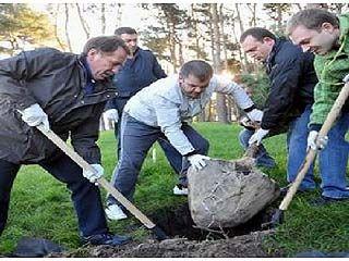 """В парке """"Алые паруса"""" появилось более 100 новых деревьев"""