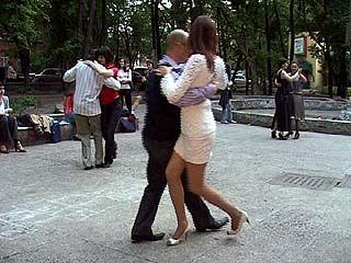 """В парке """"Орленок"""" прошел вечер аргентинского танго"""