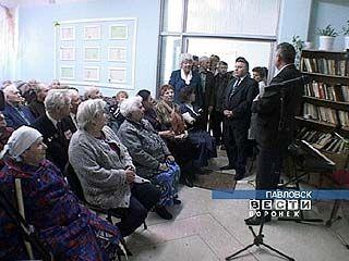 В Павловске поздравили ветеранов ВОВ
