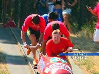 В Павловске прошёл Чемпионат России по бобслею