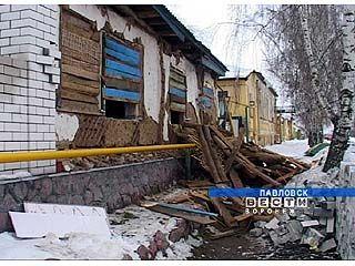 В Павловске в жилом доме взорвался баллон с газом