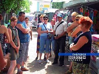 В Павловске вновь кипят страсти вокруг мини-рынка