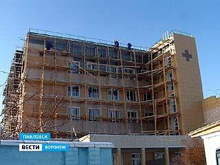В Павловске заканчивается капремонт единственного в области госпиталя