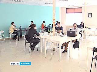 В первом в Воронеже коворкинг-центре двадцать рабочих мест