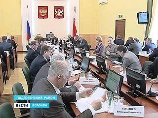 В Подгоренском районе прошло выездное заседание областного правительства