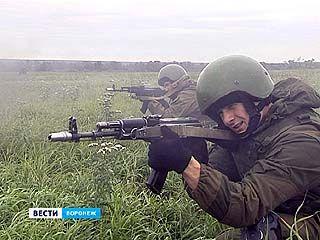 В Погоново прошли масштабные учения спецназовцев