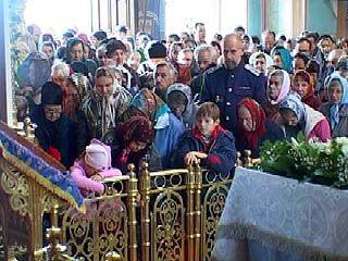 В Покровском кафедральном соборе прошло всенощное бдение