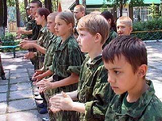 """В посёлке Сомово откроется лагерь """"Юный спецназовец"""""""