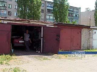 В Поворино задержаны гаражные воры