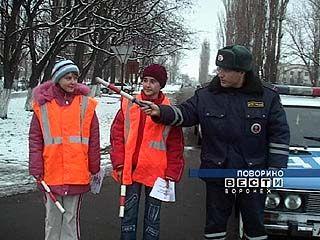 В Поворинском районе создан отряд юных инспекторов