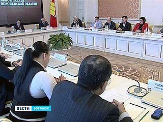 В правительстве области впервые собрался новый состав национальной палаты