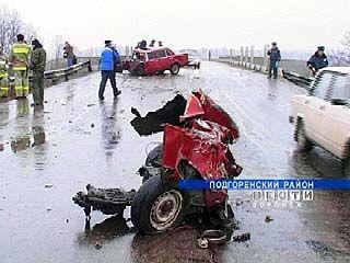 В правительстве озвучили статистику аварий на дорогах области