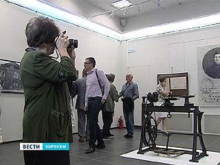 В рамках фестиваля открылась выставка, рассказывающая о творчестве Андрея Платонова
