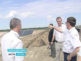 В Рамонском районе с рабочей поездкой побывал губернатор Алексей Гордеев