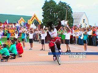 В Рамонском районе состоялось открытие пятых сельских игр