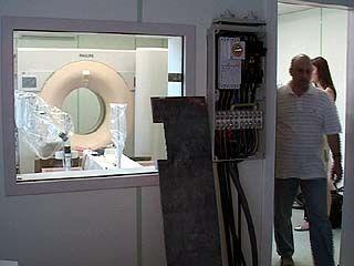 В распоряжение врачей Областной больницы поступил уникальный томограф