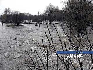 В районе села Гремячье зафиксирован максимальный подъем воды