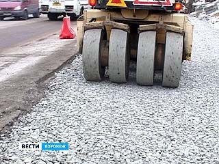 В ремонт воронежских дорог вмешалась погода