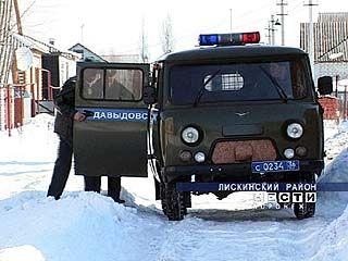 В респектабельном районе Лисок произошло дерзкое ограбление