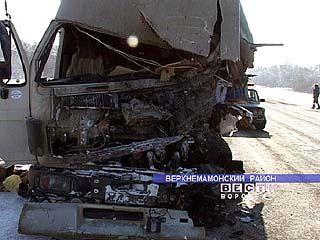 В результате аварии погиб водитель