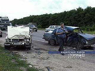 В результате крупной аварии пострадали 9 человек и 5 машин