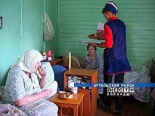 В Ростошанском доме престарелых появится новый пищеблок