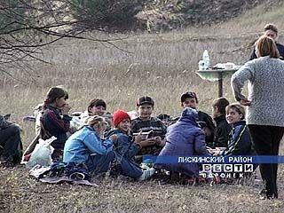 В селе Аношкино стартуют соревнования по туризму