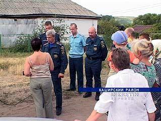 В селе Каменно-Верховка после пожара вспыхнул скандал