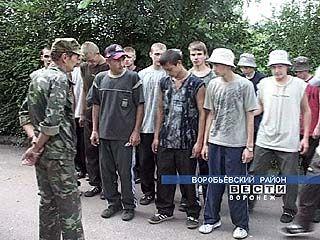 В селе Мужичье проходят военные сборы