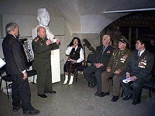 В селе Нижний Икорец чествовали ветеранов ВМФ