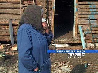 В селе Новомакарово Грибановского района бушевало несколько пожаров