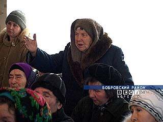 В селе Пчелиновка Бобровского района разгорелся скандал