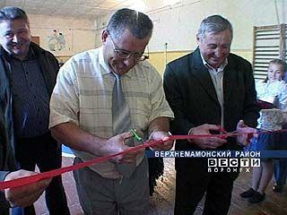 В селе Приречное открылся детский сад и школьная столовая