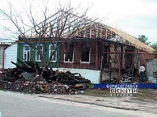 В селе Самодуровка заживо сгорела женщина