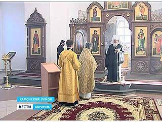 В селе Сенное освятили восстановленный храм архангела Михаила