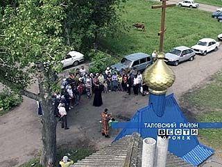 В селе Сенявка восстанавливают храм