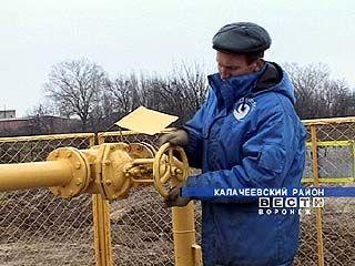 В селе Ширяево появился газ
