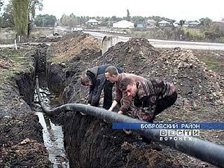 В селе Тройня водоснабжение будет восстановлено через 2 недели