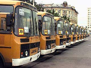 В сельских школах появится 45 автобусов