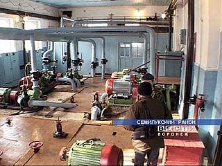 В Семилуках введен в эксплуатацию новый дюкер