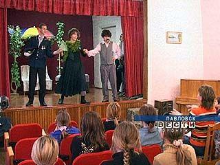 В школе-интернате для глухих детей прошла премьера водевиля