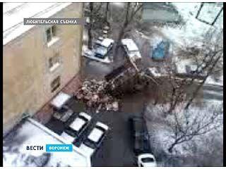 В Советском районе Воронежа - мусорная война