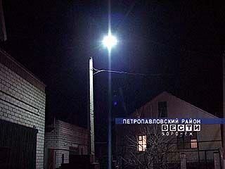 В Старой Криуше налажено освещение улиц