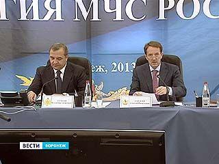 В столице Черноземья прошла выездная коллегия МЧС - и провёл её лично министр Владимир Пучков