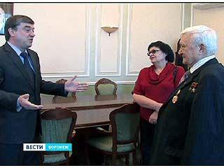 В столицу Черноземья приехал известный космонавт - Анатолий Филипченко