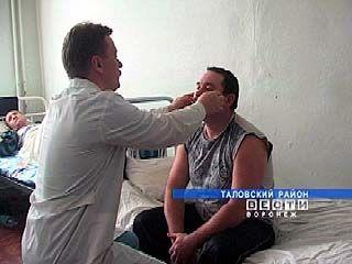 В Таловском районе от рук злоумышленников пострадал милиционер