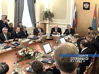 В Тамбове обсудили роль регионов в развитии нацпроектов