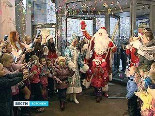"В ""Центре Галереи Чижова"" открылась воронежская резиденция Деда Мороза"