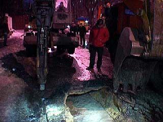 В центре Воронежа произошла крупная коммунальная авария