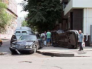 В центре Воронежа произошло серьезное ДТП